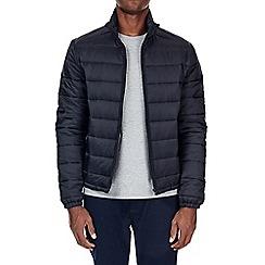 Burton - Navy funnel neck puffer jacket