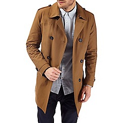Burton - Tobacco padded trench coat