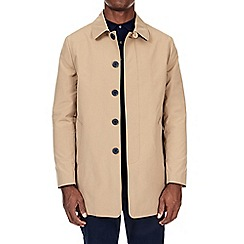 Burton - Camel smart single breasted mac