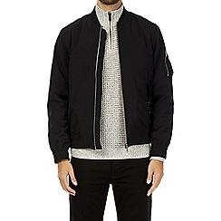 Burton - Black padded bomber jacket