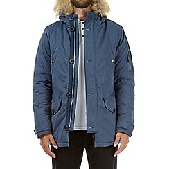 Burton - Blue Alaska parka coat
