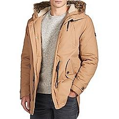 Burton - Stone borg lined parka jacket