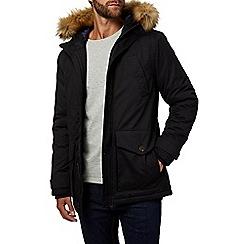 Burton - Black parka coat