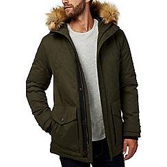 Burton - Khaki parka coat