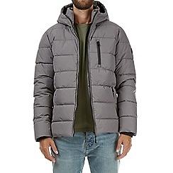 Burton - Grey matrix puffer jacket