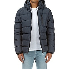 Burton - Navy matrix puffer jacket