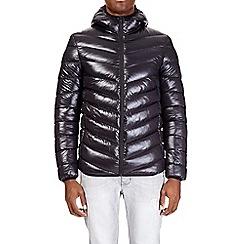 Burton - Black glacier quilted jacket