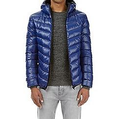 Burton - Blue glacier quilt hooded jacket
