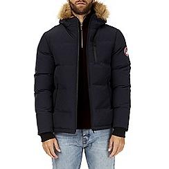Burton - Navy Brecon puffer jacket