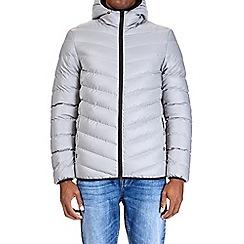 Burton - Grey glacier quilted jacket