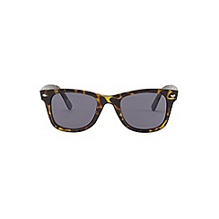 Burton - Green wayfarer sunglasses