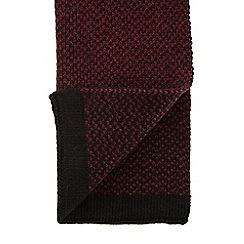 Burton - Burgundy formal scarf