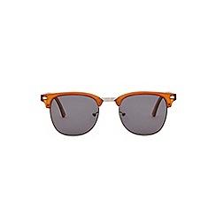 Burton - Orange retro sunglasses