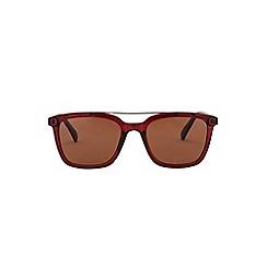 Burton - Brown flatbrow sunglasses