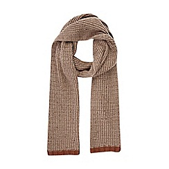 Burton - Oatmeal knitted scarf