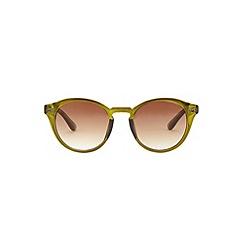 Burton - Green keyhole sunglasses