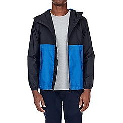 Burton - Blue lightweight hooded jacket