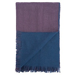 Burton - Purple & navy scarf