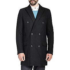 Burton - Black double breasted jacket