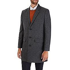 Burton - Grey wool chesterfield coat