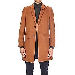 Burton - Camel chesterfield coat