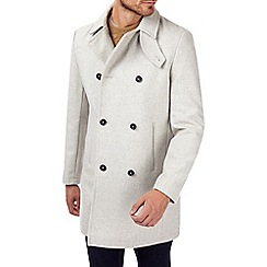 Burton - White wool blend coat