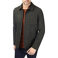 Burton - Khaki wool blend worker jacket
