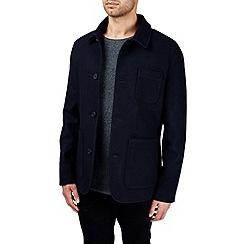 Burton - Navy wool worker jacket