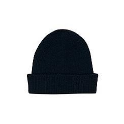 Burton - Blue fisherman beanie hat