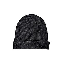 Burton - Charcoal slouch beanie hat