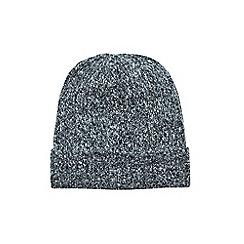 Burton - Grey boucle beanie hat