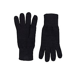 Burton - Black basic knitted gloves