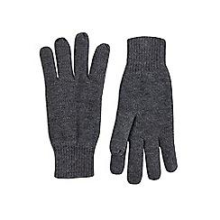 Burton - Grey Thinsulate gloves