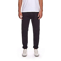 Burton - Indigo five pocket tapered fit trousers
