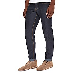 Burton - Dark blue coated slim jeans