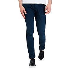 Burton - Dark greencast slim fit denim jeans