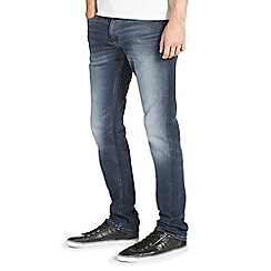 Burton - Mid wash slim fit jeans