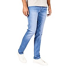 Burton - Hyper blue wash slim fit jeans