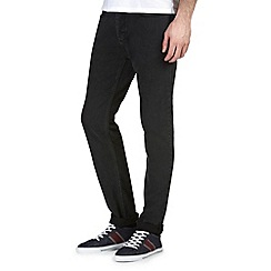 Burton - Washed black slim jeans