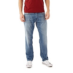 Burton - Bleached stretch slim jean
