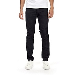Burton - Black coated slim fit jeans