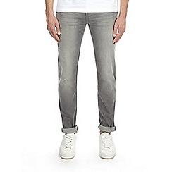 Burton - Grey stretch tapered leg jeans