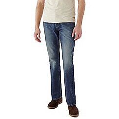 Burton - Light wash bootcut jeans