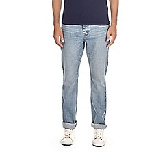 Burton - Light wash bootcut fit jeans
