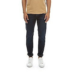 Burton - Big and tall blue black skinny jeans