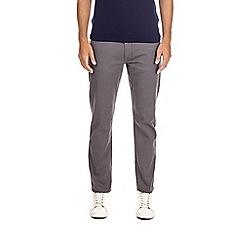 Burton - Grey five pocket slim fit jeans