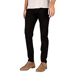 Burton - Black stretch tapered fit jeans