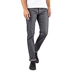 Burton - Grey skinny fit coated premium jeans