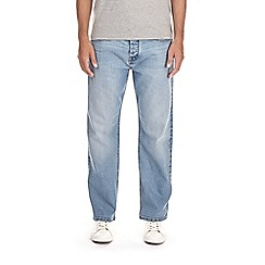 Burton - Light blue relaxed fit jeans