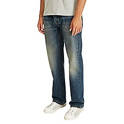 Burton - Relaxed dirty tint jeans